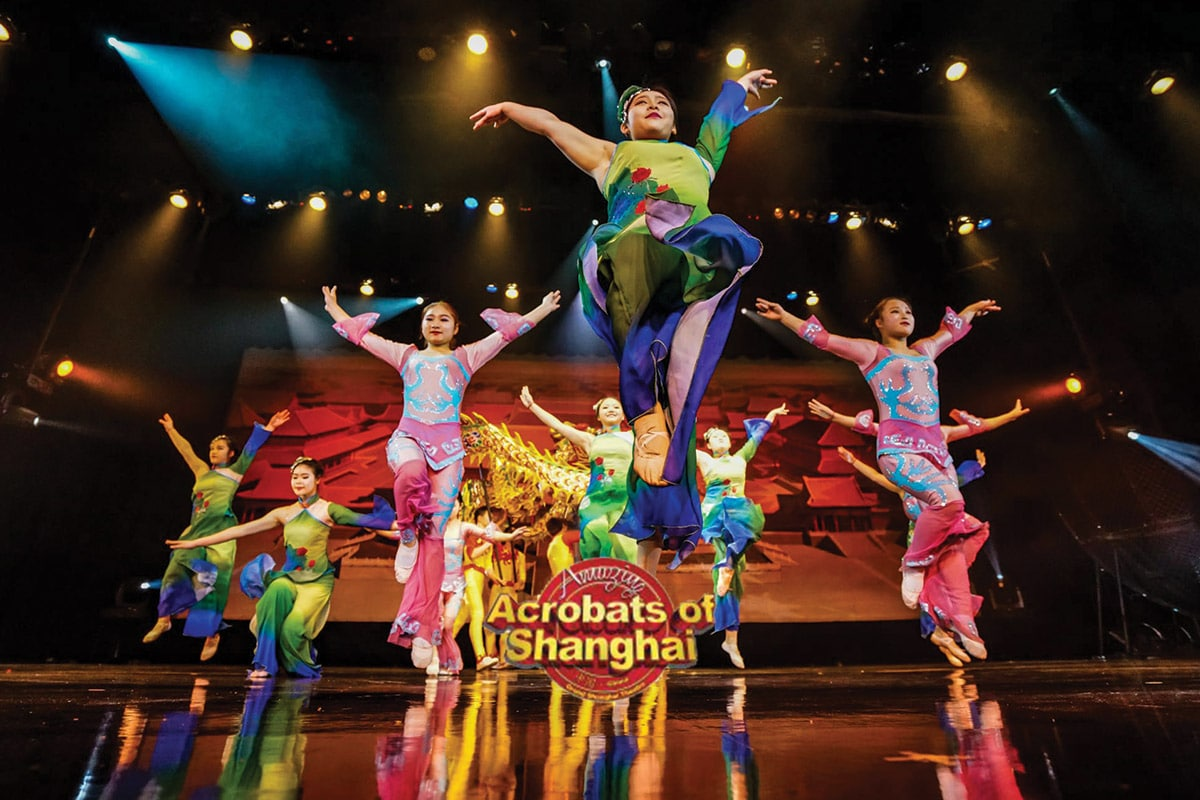 Amazing Acrobats Of Shanghai Discover Branson