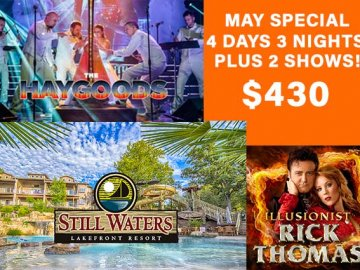 Branson Missouri May Special Offer